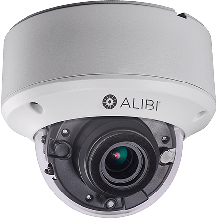 alibi dome security camera